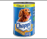 Консервы Chappi (Чаппи) Для Собак Всех Пород Мясное Изобилие 400г (1*24)