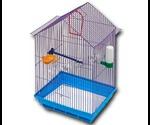 Клетка Для Птиц ЗооМарк Большая Комплект 46*22*34см 430