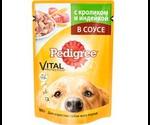 Влажный Корм Pedigree (Педигри) Vital Protection Для Собак Кролик с Индейкой 100г
