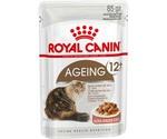 Влажный Корм Royal Canin (Роял Канин) Feline Health Nutrition Ageing +12 Gravy Для Пожилых Кошек Старше 12 Лет Аппетитные Кусочки в Соусе 85г