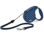 Рулетка Для Собак Средних Пород Flexi (Флекси) Color Dots Medium До 20кг Трос 5м Синий