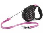 Рулетка Для Собак Мелких Пород Flexi (Флекси) Color Small Трос 5м До 12кг Розовый