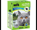 Консервы Bozita (Бозита) MINI Duck Chunks in Sause Для Кошек Утка Кусочки в Соусе 190г