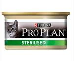 Консервы ProPlan (ПроПлан) Sterilised Для Кастрированных Котов и Стерилизованных Кошек Лосось с Тунцом 85г