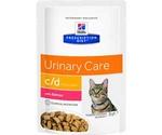 Hills (Хиллс) Prescription Diet C/D Multicare Urinary Care Лечебный Влажный Корм Для Кошек Для Поддержания Здоровья Мочевыводящих Путей Лосось 85г