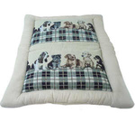 Лежак-Подушка Для Собак Dezzie (Дэйззи) 91*70см С Собаками 5615103