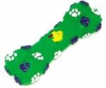 Игрушка Для Собак Dezzie (Деззи) Косточка Собачья-Радость Зеленая Винил 14*5см 5604025