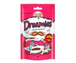 Лакомство Подушечки Dreamies (Дримс) Cat Treats with Tempting Beef Для Кошек Говядина 60г (1*6)