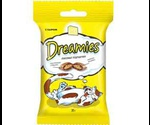 Лакомство Подушечки Dreamies (Дримс) Cat Treats with Delicious Cheese Для Кошек Сыр 60г (1*6)