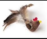 Игрушка Для Кошек Цыпленок с Перьями TAI CHI PET (Тай Чи Пет) 90150