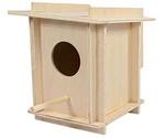 Скворечник Гнездо Малый в Клетку 12,5*12,5*14,5см Rp8516