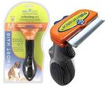 Фурминатор Для Собак Средних Пород с КОРОТКОЙ Шерстью FURminator Deluxe 7см Short Hair Medium Dog
