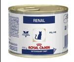 Лечебные Консервы Royal Canin (Роял Канин) Veterinary Diet Feline Renal Chicken Для Кошек При Почечной Недостаточности с Цыпленком 195г