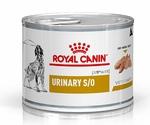 Лечебные Консервы Royal Canin (Роял Канин) Veterinary Diet Canine Urinary S/O Для Собак При Мочекаменной Болезни 200г