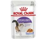 Влажный Корм Royal Canin (Роял Канин) Для Стерилизованных Кошек и Кастрированных Котов Аппетитные Кусочки в Желе Feline Health Nutrition Sterilised Jelly 85г (1*12)