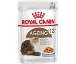 Влажный Корм Royal Canin (Роял Канин) Для Пожилых Кошек Старше 12 Лет Аппетитные Кусочки в Желе Feline Health Nutrition Ageing 12+ Jelly 85г (1*12)