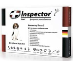Инспектор Тотал С Капли От Внешних и Внутренних Паразитов Для Собак 2-10кг Inspector I203 (1*4)
