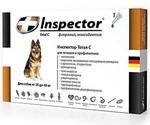 Инспектор Тотал С Капли От Внешних и Внутренних Паразитов Для Собак 25-40кг Inspector I205 (1*4)