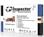 Инспектор Тотал К Капли От Внешних и Внутренних Паразитов Для Кошек До 4кг Inspector I201 (1*4)