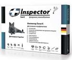 Инспектор Тотал К Капли От Внешних и Внутренних Паразитов Для Кошек 4-8кг Inspector I206 (1*4)