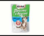 Влажный Корм Kitekat (Китекат) Для Кошек Просто и Вкусно Рыба 85г (1*24)