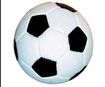 Игрушка Для Собак Мяч Футбольный Винил 7см 1005