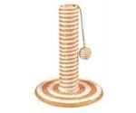 Когтеточка Столбик-Карамель Оранжевый Сизаль Тм-111023 (29*29*40см)