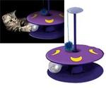 Игрушка Для Кошек Petstages (ПетСтейдж) Трек с Мигающим Мячиком Whisper Track 388