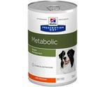 Hills (Хиллс) Prescription Diet Metabolic Weight Management Лечебные Консервы Для Собак Для Достижения и Поддержания Оптимального Веса Курица 370г