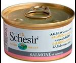 Консервы Schesir (Шезир) Nature for Cat Salmon Natural Style Для Кошек Лосось в Собственном Соку 85г