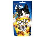 Лакомство Felix (Феликс) Party Mix Для Кошек Сырный Микс 60г (1*8)
