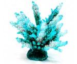 Коралл Для Аквариума Triton (Тритон) Голубой Искусственный Силикон Sh-059G