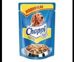 Влажный Корм Chappi (Чаппи) Для Собак Всех Пород Курочка Аппетитная 100г (1*24)