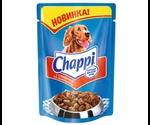Влажный Корм Chappi (Чаппи) Для Собак Всех Пород Говядина По-Домашнему 100г Пауч (1*24)