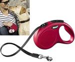 Рулетка Для Собак Мелких и Средних Пород Flexi (Флекси) New Classic S До 15кг Ремень 5м Красный