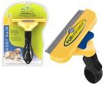 Фурминатор Для Собак Крупных Пород с КОРОТКОЙ Шерстью FURminator Deluxe 10см Short Hair Large Dog