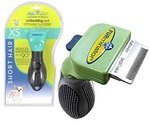 Фурминатор Для Собак Карликовых Пород с ДЛИННОЙ Шерстью FURminator Deluxe 3см Short Hair Toy Dog
