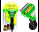 FURminator (Фурминатор) Deluxe Long Hair Small Dog Для Длинношерстных Мелких Собак 4см Новогодний