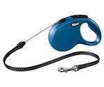 Рулетка Для Собак Мелких Пород Flexi (Флекси) Трос 8м До 12кг New Classic S Синий