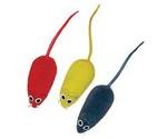 Игрушка Для Кошек Мышь с Пищалкой Pvc003 (1*4)