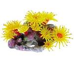 Коралл Для Аквариума Dezzie (Деззи) Желтый Пластик 20*12*14см 5611191