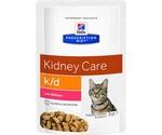 Hills (Хиллс) Prescription Diet K/D Kidney Care Лечебный Влажный Корм Для Кошек При Заболевании Почек Лосось 85г