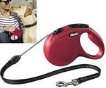 Рулетка Для Собак Средних Пород Flexi (Флекси) New Classic M До 20кг Трос 5м Красный