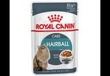 Влажный Корм Royal Canin (Роял Канин) Hairball Care Для Кошек Профилактика Образования Волосяных Комочков Аппетитные Кусочки в Соусе 85г (1*12)