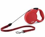 Рулетка Для Собак Мелких Пород Flexi (Флекси) Classic S До 12кг Трос 5м Красный