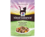 Hills (Хиллс) Ideal Balance Juicy Turkey Влажный Корм Для Кошек Сочная Индейка 85г