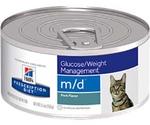 Hills (Хиллс) Prescription Diet M/D Glucose/Weight Management Лечебные Консервы Для Кошек При Сахарном Диабете 156г