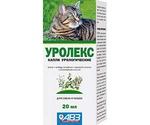 Уролекс Капли Урологические Для Кошек и Собак 20мл АВЗ