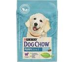 Сухой Корм Dog Chow (Дог Чау) Puppy Для Щенков Всех Пород Ягненок с Рисом 800г (1*8)