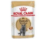 Влажный Корм Для Кошек Породы Британская Короткошерстная Royal Canin (Роял Канин) Feline Breed Nutrition British Shorthair Wet Аппетитные кусочки в Соусе 85г (1*12)
